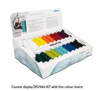 Display seraflex fantastisch elastisch naaigaren