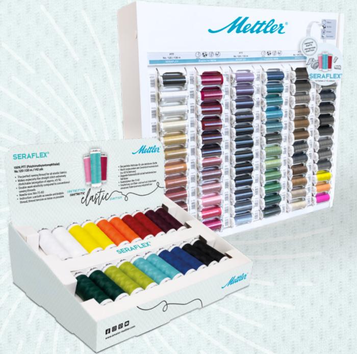 Seraflex garenkast 72 kleuren inclusief de 36 nieuwste kleuren!