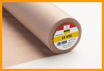 LE420 interlining for leather etc. by Vilene