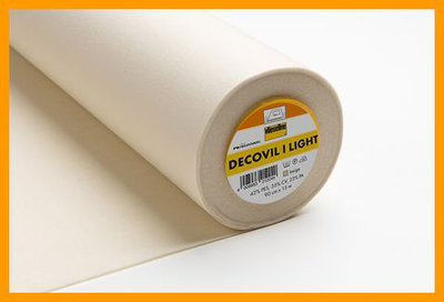 Decovil light is een lichte tasvlieseline
