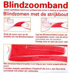 Blindzoomband van vlieseline op rol van 50m