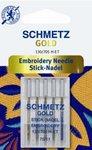 Embroidery titanium GOLD naald van Schmetz