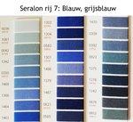 Seralon universeel naaigaren in blauw en grijsblauw