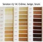 Seralon universeel naaigaren in Crême, beige en bruin