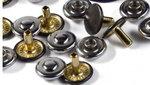 Siernieten van PRYM in zilver/grijs 9mm