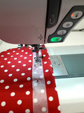 Soluvliesband zoals je het kunt gebruiken, voor de zoom in tricot