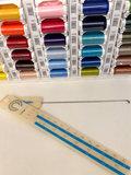 Garenkast gevuld met seraflex fantastisch elastisch naaigaren