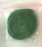 Satijnen biaisband 2cm breed mosgroen