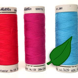 SeraCYCLE 100% gerecycled polyester universeel naaigaren - doosje 5 klosjes van 200m - dikte 120