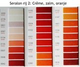 Seralon universeel naaigaren in Crême, zalm, oranje