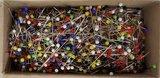 Het doosje met 1000 glaskopspelden