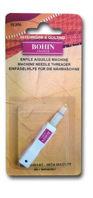 Draaddoorhaler voor naaimachine met magneet van Bohin
