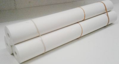 Grote rol patroonpapier stevig en doorzichtig, 45 grams, 50cm br