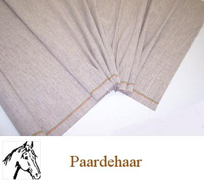 Stevige naaibare paardehaardoek beige 80 cm breed