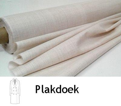 Plakdoek stevig multizone beige 90 cm breed