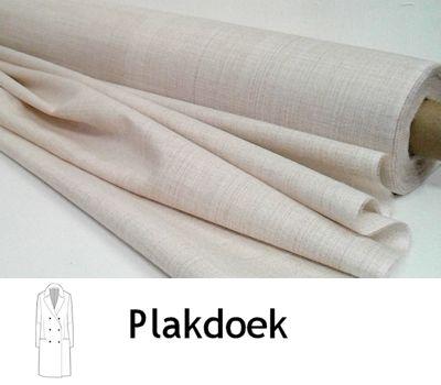 Plakdoek stevig beige 90 cm breed