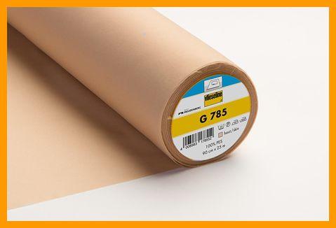 G785 geweven vlieseline 90 cm breed