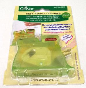 Desk needle threader van clover - dé draaddoorhaler voor dunne handnaalden