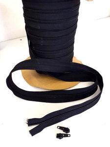 Rits op rol spiraal zwart eindloos