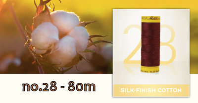 Silk Finish Cotton dikte 28