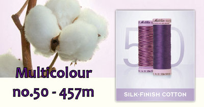 Silk Finish Cotton dikte 50