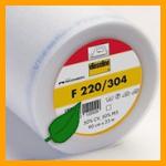 F220 is een vlieseline gemaakt van gerecylced polyester