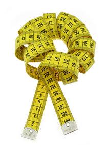 Centimeterband 200cm lang profi