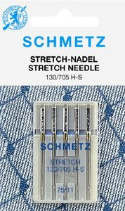 Naaimachine naalden voor stretch stoffen van Schmetz
