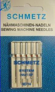 Superstretch naaimachine naalden van Schmetz