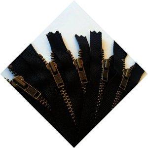 Deelbare ritsen antieke tand zwarte band