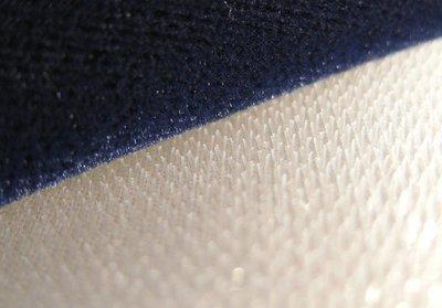 Fluweel / persmat detailfoto