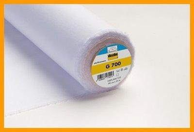 Vlieseline G700 plakkatoen wit