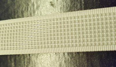 Balein om in te naaien of in te schuiven 12mm wit