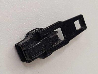 Schuiver voor de S40 ritsen van optilon in zwart
