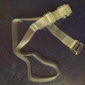 Transparante schouderbandjes afneembaar
