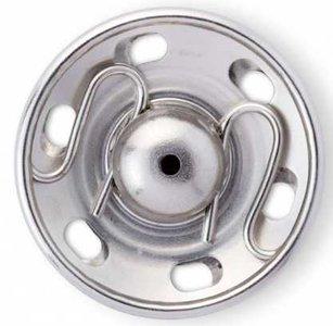Zilveren aannaaidrukker van prym